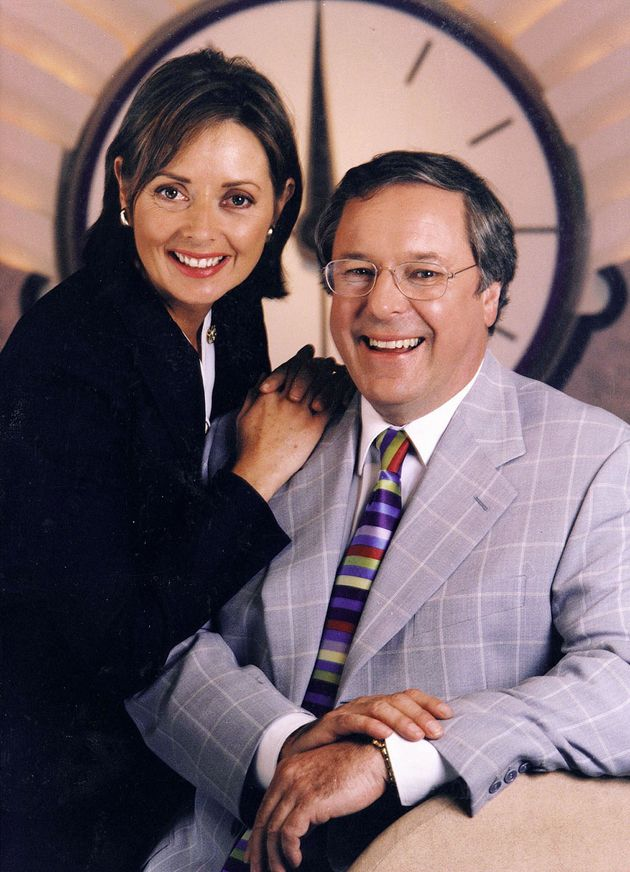 Carol Vorderman and Richard Whiteley hosted 'Countdown' together from 1982 to