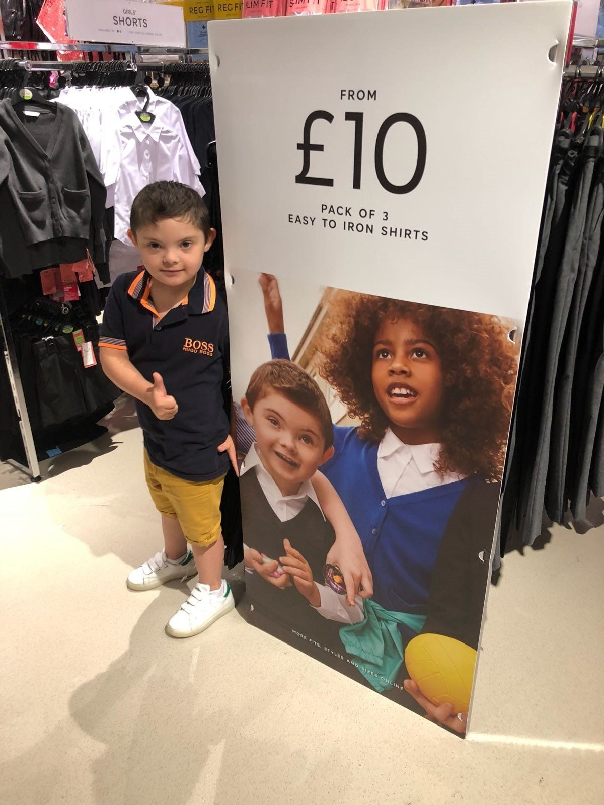 Why Representing Disability Matters: The Moment A Boy With Down's Syndrome Saw Himself In An M&S
