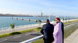 Le roi inaugure les nouveaux ports de pêche et de plaisance de la zone portuaire de