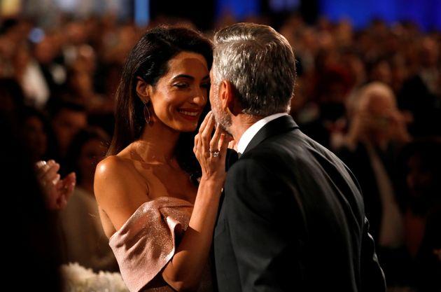 H ερωτική εξομολόγηση της Amal στον George