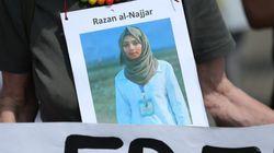 """L'armée israélienne édite une vidéo pour faire passer Razan al-Najjar pour le """"bouclier humain"""" du Hamas"""