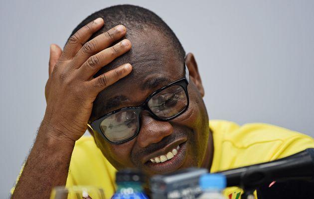 Le président de la Fédération de football du Ghana, Kwesi Nyantakyi, lors d'une...