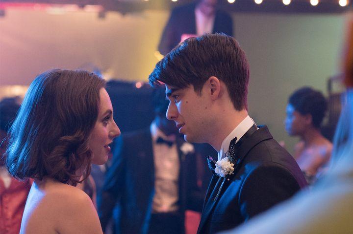 """Madeline Weinstein andDaniel Doheny star in """"Alex Strangelove,"""" now on Netflix."""