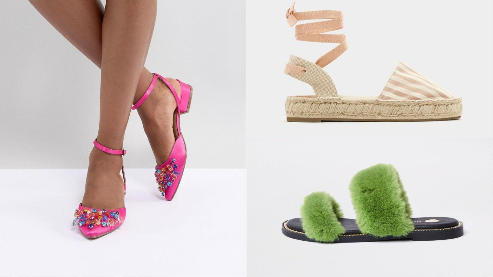Flat But Fancy - Your Under £50 Summer Shoe Shopping