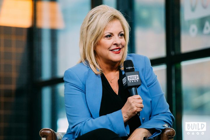 Nancy Grace visits Build Series in New York City.