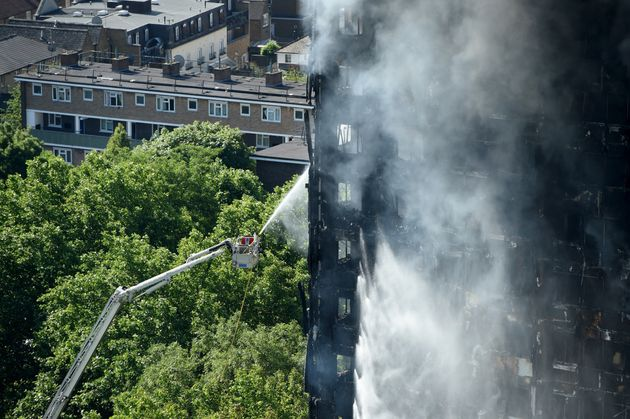 More than 700 fire service personnel were involved in the response to the Grenfell Tower fire.