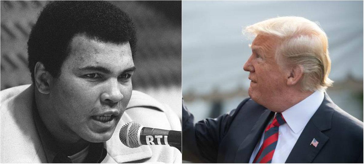 Trump pense gracier Mohamed