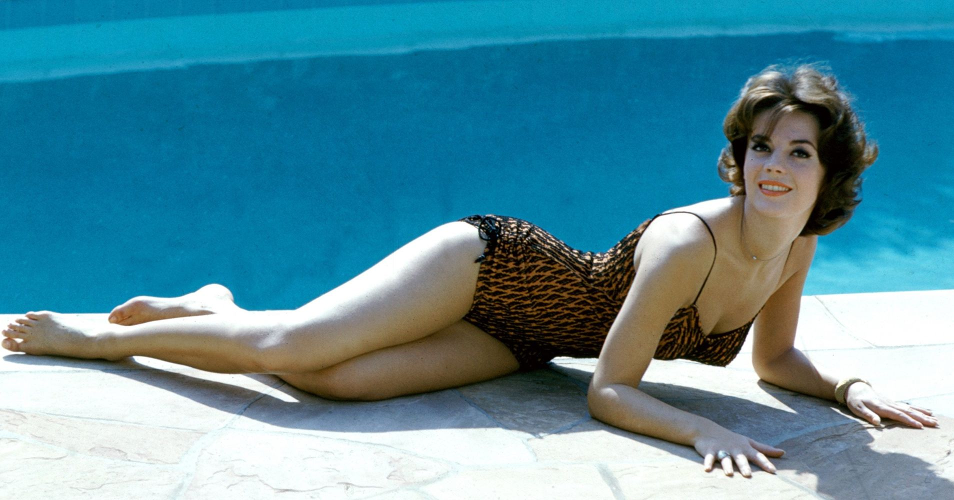 597a6fd09a4 These Old-Hollywood Bombshells Have All The Vintage Swimwear Inspiration  You Need | HuffPost Life