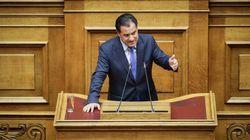 ΣΥΡΙΖΑ κατά Γεωργιάδη για τα περί «μπλόφας» της ΝΔ το 2008 για το ονοματολογικό
