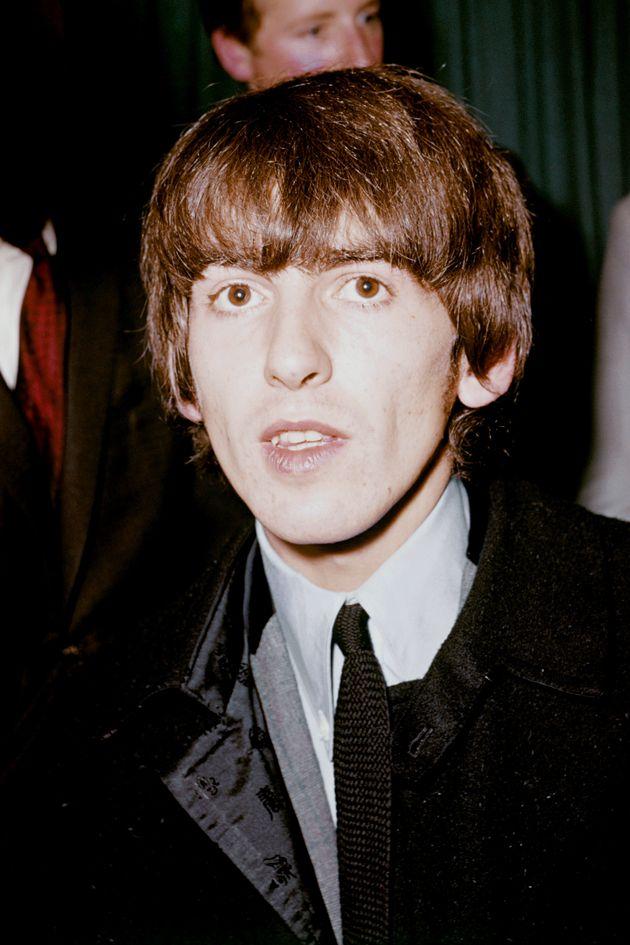 George Harrison, Beatles rhythm