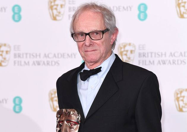 Ken Loach in the press room during the EE British Academy Film Awards in