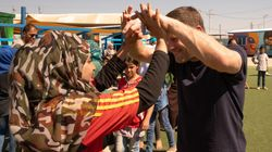 Visiting Jordan's Refugee Camps Showed Me What Soccer Aid Is All