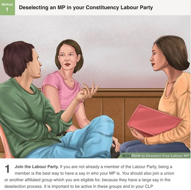 'How To Deselect Your Labour MP' Online Guide Triggers Row Amid Fresh Moves By Corbyn Supporters To Change...