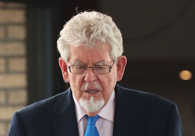 Rolf Harris arrives at Southwark Crown Court, London before the veteran entertainer is sentenced for...