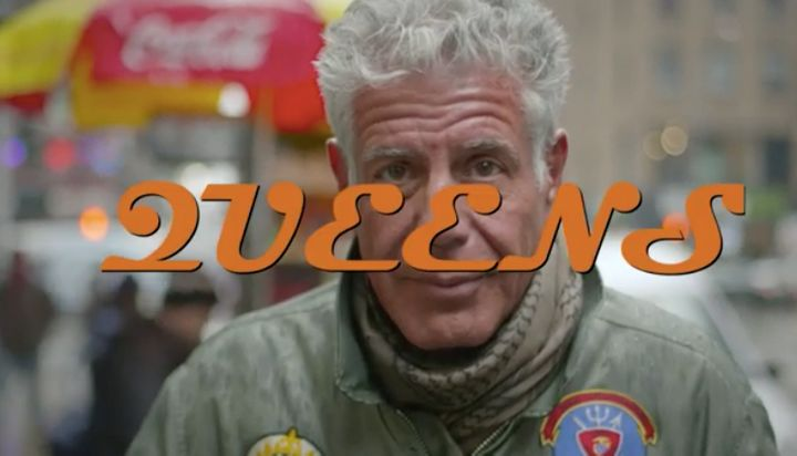 "Anthony Bourdain devoted an episode of ""Parts Unknown"" to Queens in May 2017."