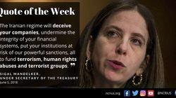 Effektive Sanktionen gegen den Iran