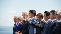 News-Blog zum G7-Gipfel: Merkel wieder will Trump im Privatgespräch