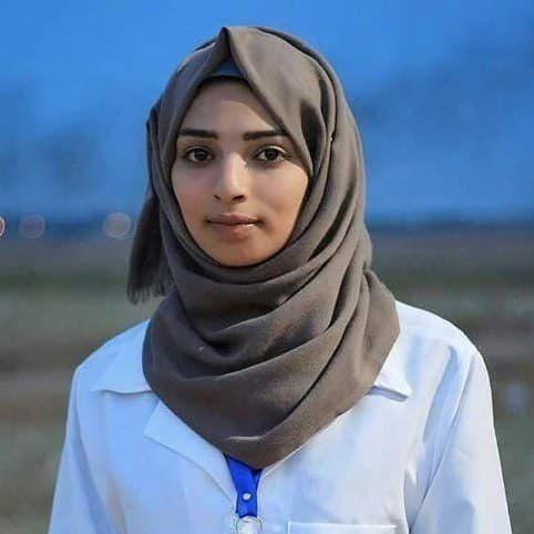 지난 1일 사망한 팔레스타인 구조대원 라잔