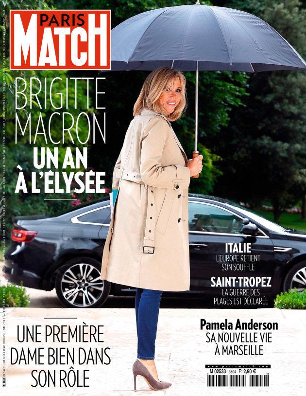 Rätselhaftes Cover: Warum Frankreich über die Füße von Brigitte Macron