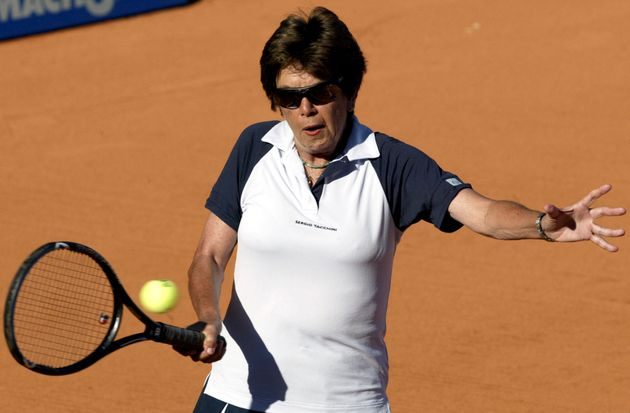 Brazilian tennis star, Maria Bueno, has died aged 78; she is picture above during an exhibition match...