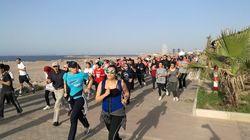 #Arwahi-tadjri : une foule de joggeuses court pour le droit des Algériennes à l'espace