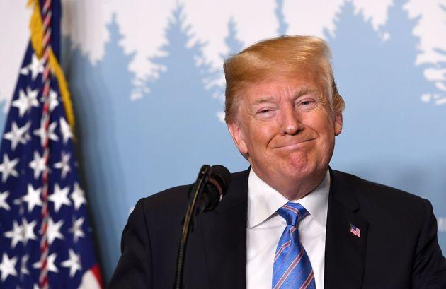 트럼프가 싱가포르로 떠나며 밝힌 북미정상회담에 임하는