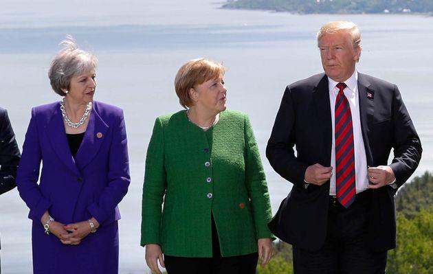 도널드 트럼프의 G7 정상회담을 적절하게 요약한 한 장의