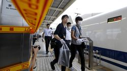 일본 신칸센 열차에서 '묻지마' 흉기 난동 사건이