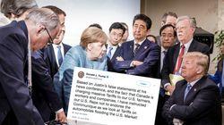 Trump sprengt mit einem Tweet die Abschlusserklärung des
