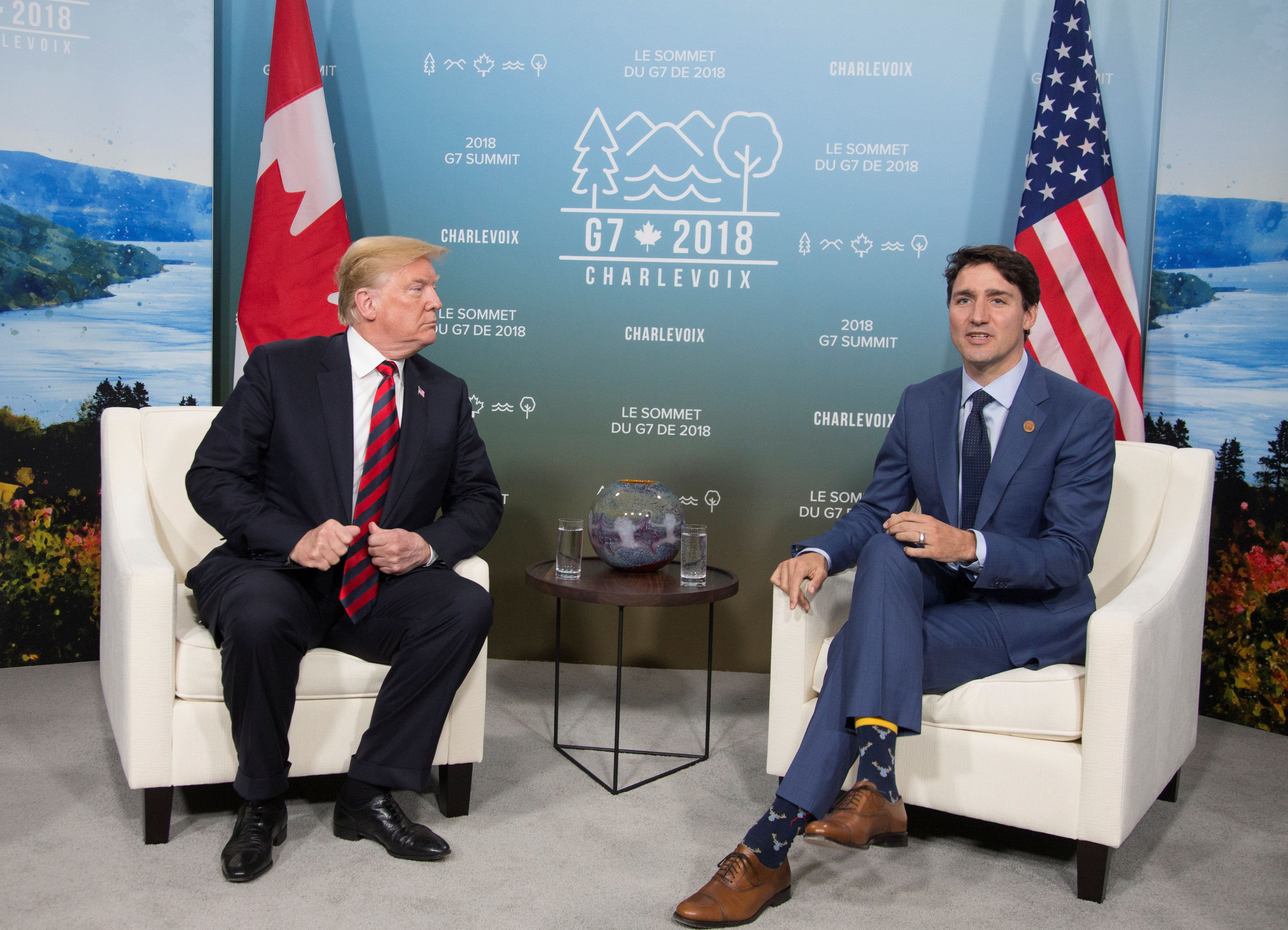 Ο Τραμπ «τορπίλισε» την προσπάθεια της G7 να επιδείξει κοινό