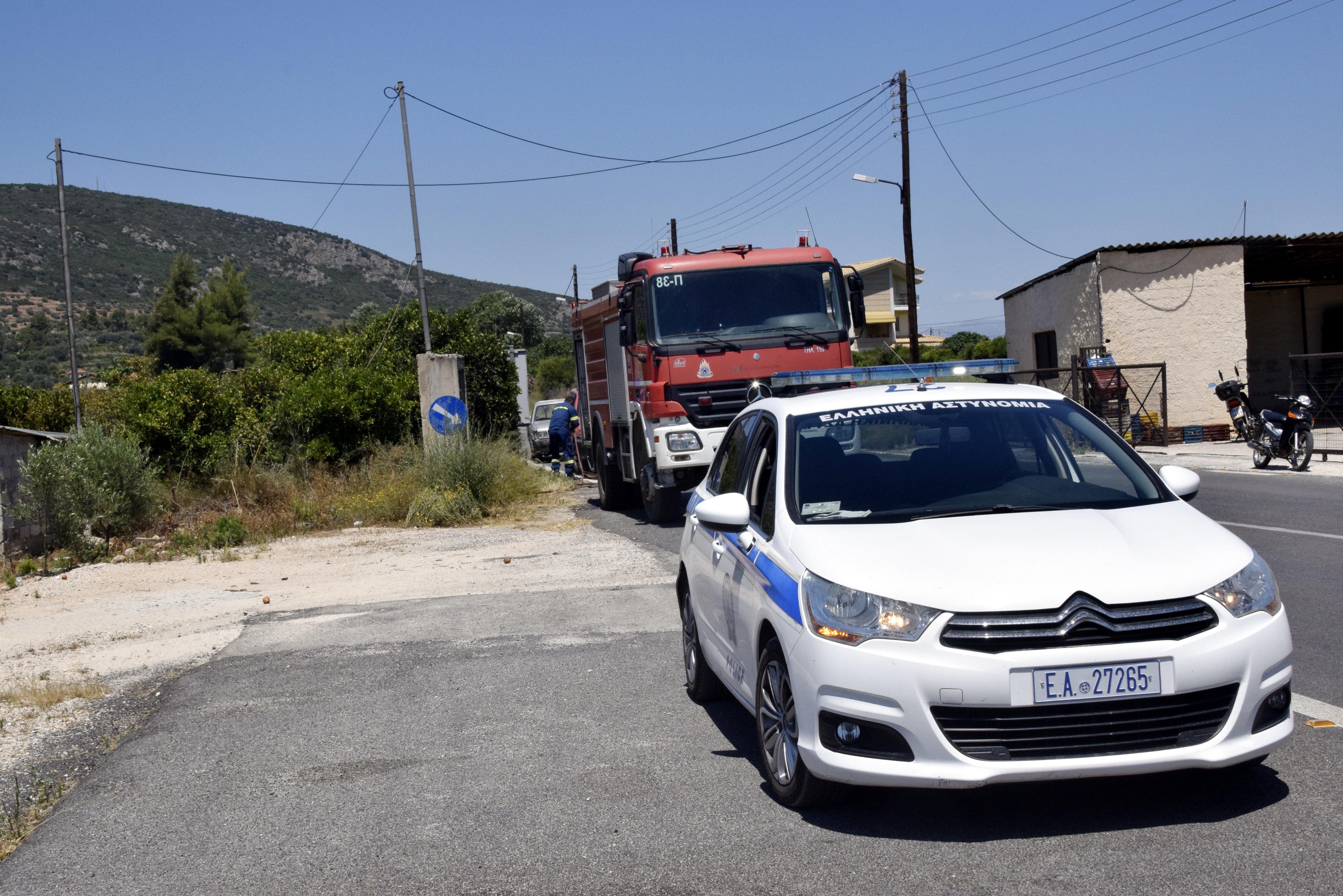 Καταδίωξη ύποπτου οχήματος στην παλιά Εθνική Οδό Αθηνών-