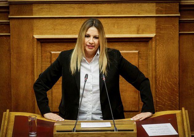 Γεννηματά: Η κυβέρνηση δεν μπορεί να αντιμετωπίζει το θέμα των δύο Ελλήνων στρατιωτικών ως εκκρεμότητα