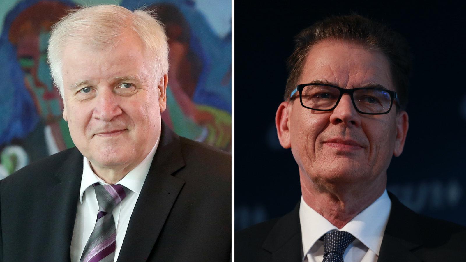 Seehofer und Müller wollen Asylplan vorstellen –es geht um mehr als