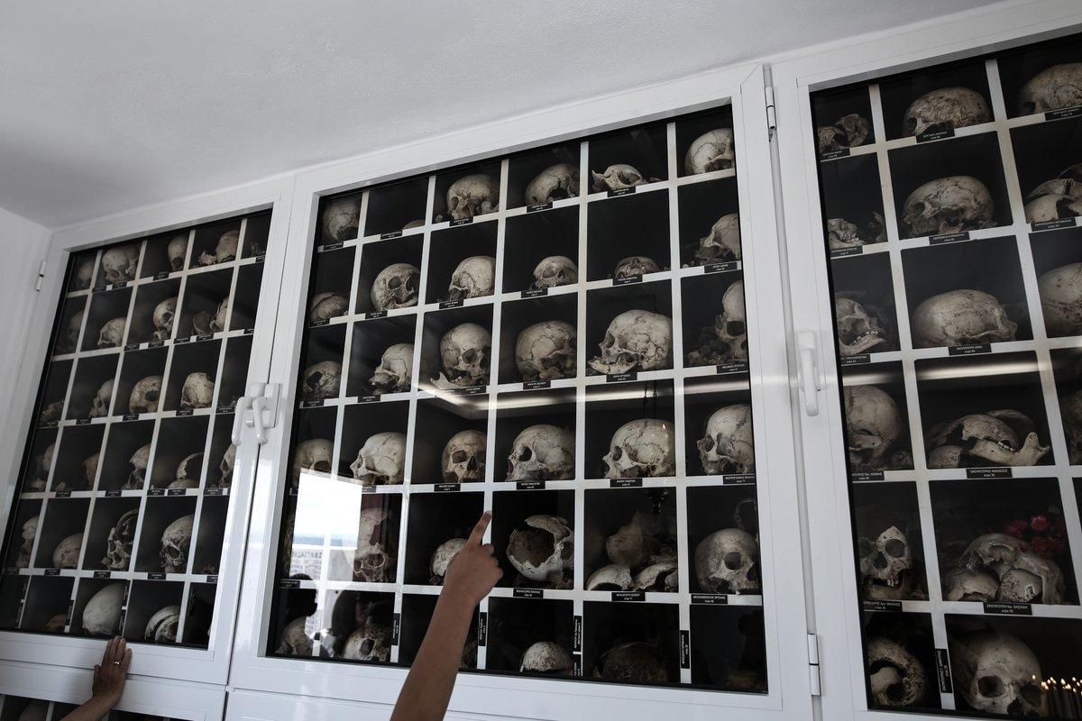 Κορυφώθηκαν οι εκδηλώσεις μνήμης στο Δίστομο για τα 74 χρόνια από τη ναζιστική