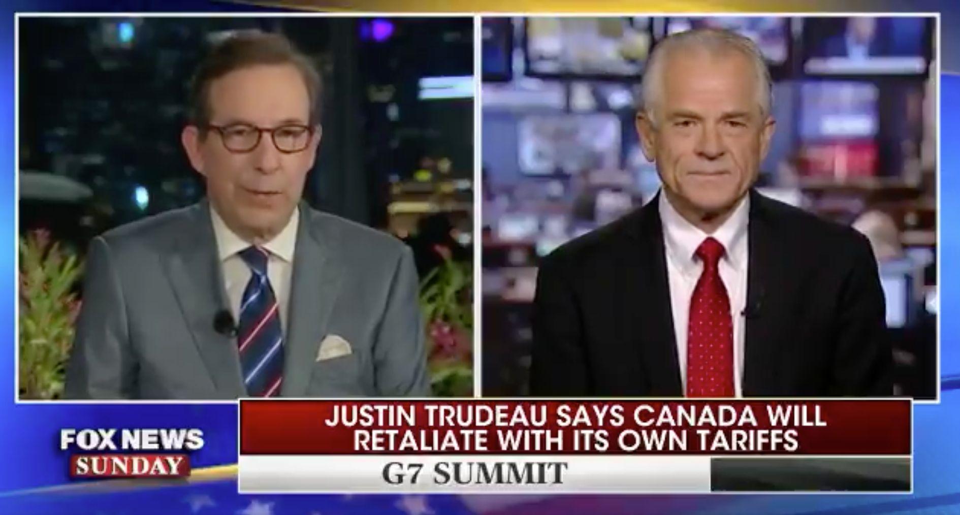 """""""Platz in der Hölle"""": Trumps Handelsberater macht Trudeau unerhörte Vorwürfe"""