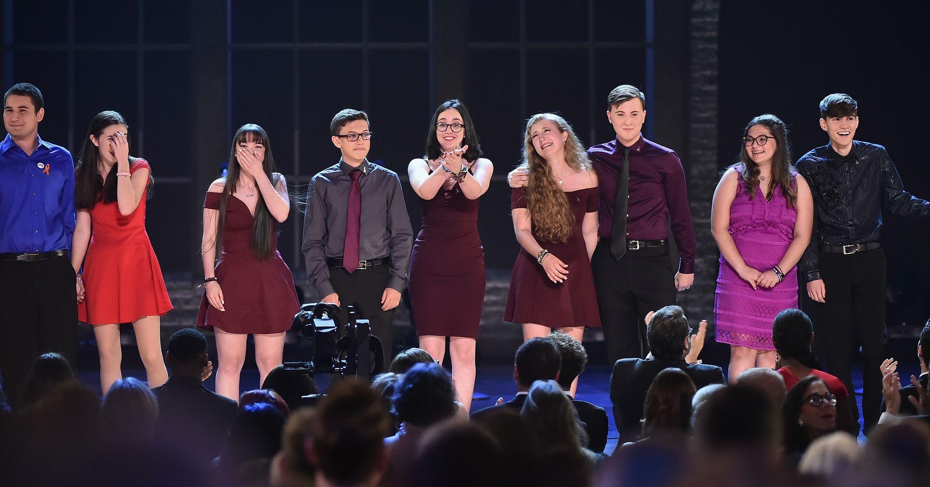 Parkland Students Perform 'Seasons Of Love' At Tony Awards