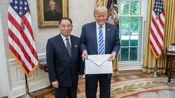 김정은이 트럼프에게 보낸 비공개 친서는 평양 초대장인 것