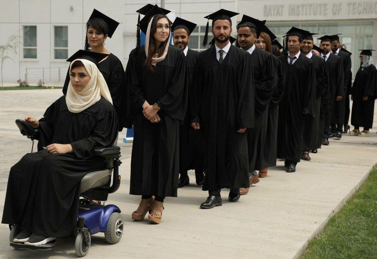 'Afghanistan's Malala' Gets Standing Ovation As She Graduates With