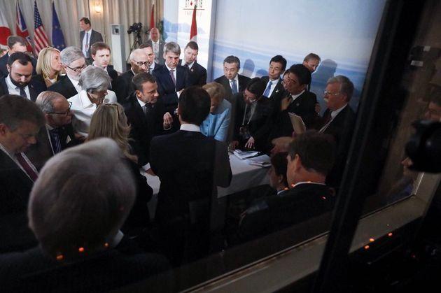 에마뉘엘 마크롱 프랑스 대통령의 사진작가가 찍은
