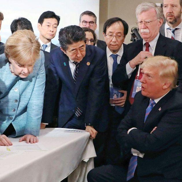 아베 신조 일본 총리의 사진작가가 찍은