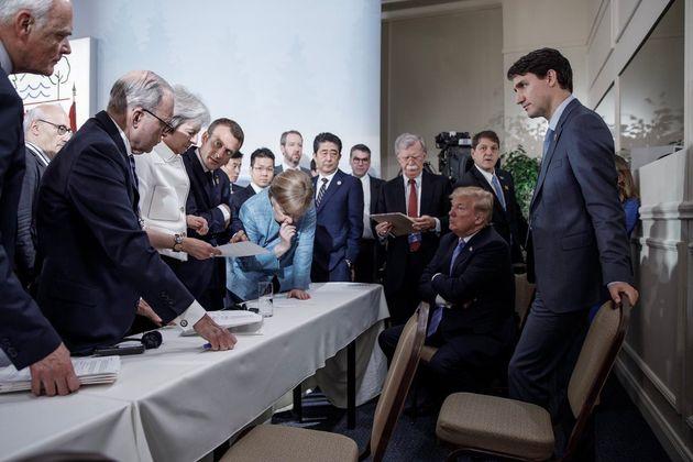 저스틴 트뤼도 캐나다 총리의 사진작가가 찍은