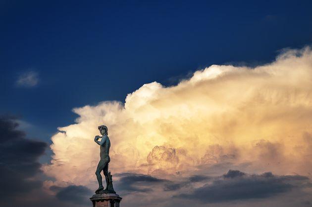 미켈란젤로 광장의 다비드