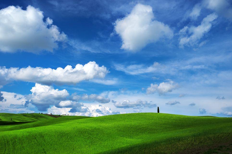 저 푸른 초원 위에 그림 같은 집을 짓고 살고 싶은 발 도르차 평원의