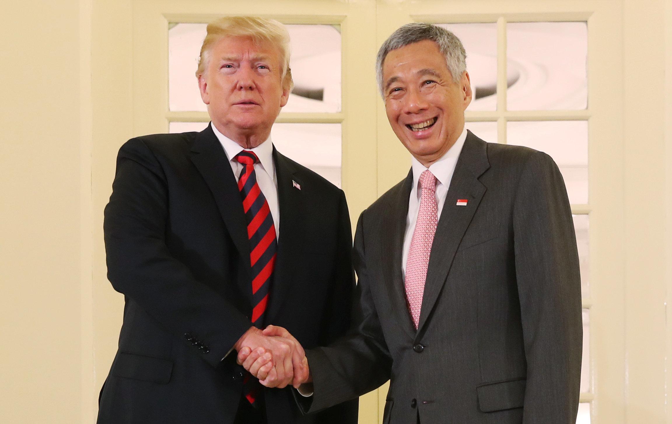 """트럼프가 북미정상회담에서 """"일이 잘 풀릴 것""""이라고 말했다"""