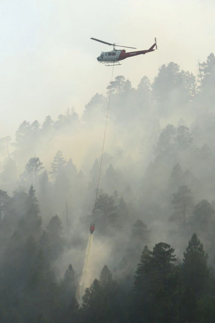 More than 2,000 homes have been evacuated as firefighters try to tame the wildfire near Durango, Colorado.