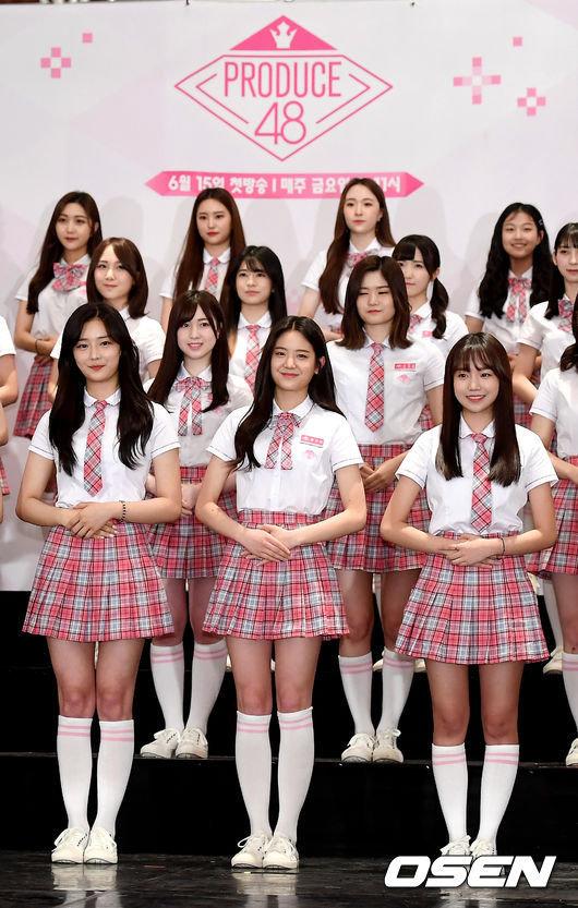 '프로듀스48' 측이 AKB48의 '우익 논란'에 대해 밝힌 입장