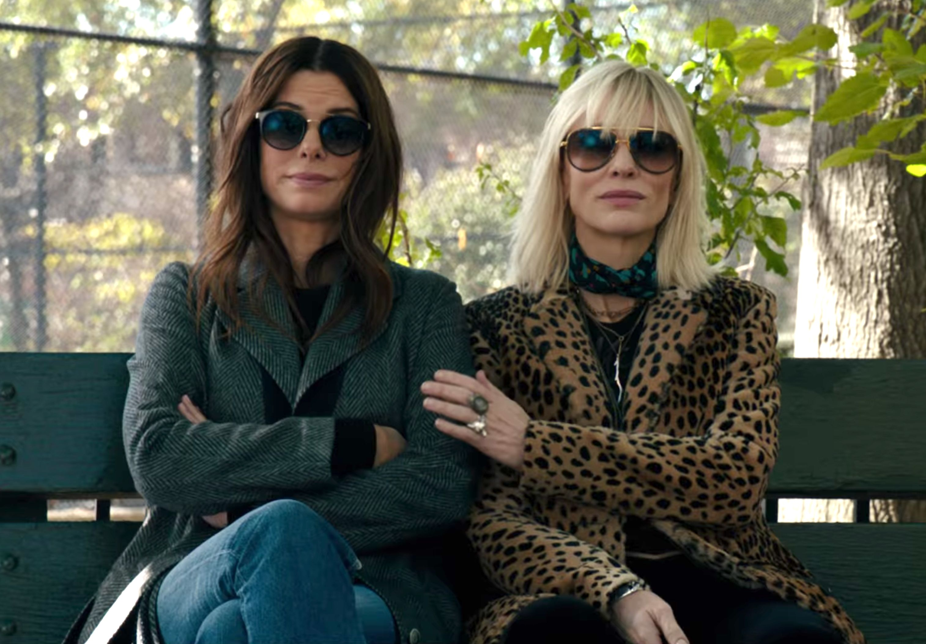 Sandra Bullock and Cate Blanchett in Oceans 8