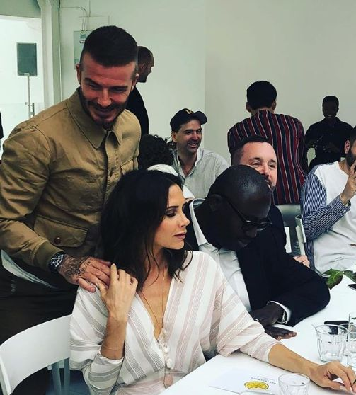 David And Victoria Beckham Put On A United Front At London Fashion Week