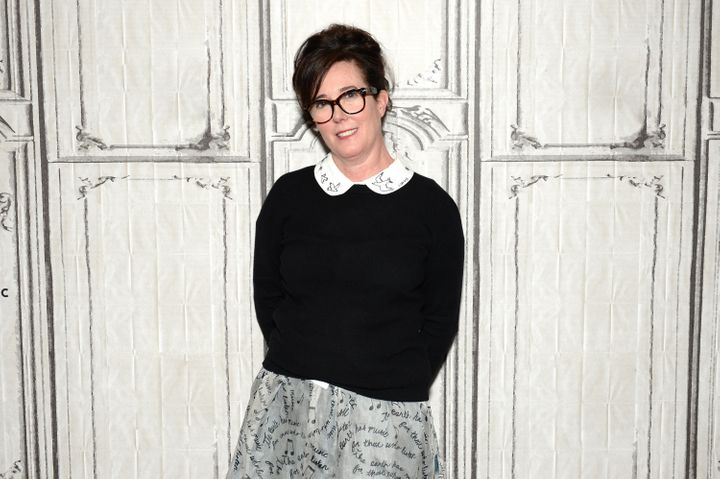 Kate Spade, who died by suicide at the age of 55.