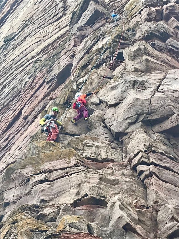 Boy Becomes The Youngest Person To Climb Old Man Of Hoy To Raise Funds For A Cancer